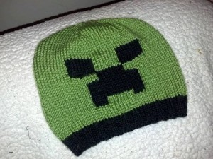 Creeper Hat Knitting Pattern