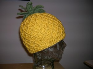 Crochet Pineapple Hat