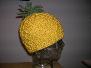 Crochet Pineapple Hat