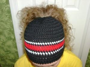 Crochet Ponytail Hat