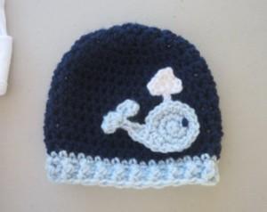 Crochet Whale Hat