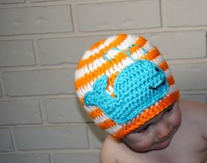 Crochet Whale Hat Pattern