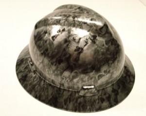 Custom Fiberglass Hard Hat