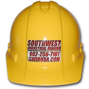Custom Hard Hats Stickers