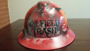 Custom Oilfield Hard Hats