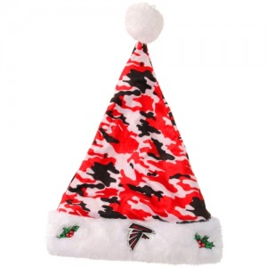 Digital Camo Santa Hat