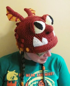 Dragon Hat Crochet