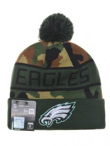 Eagles Camo Winter Hat