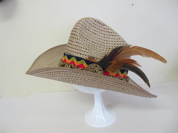 New 2018 Sun Hat Faux Leather Cowboy Hat Men and Women
