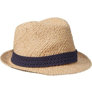 Fedora Straw Hat for Women