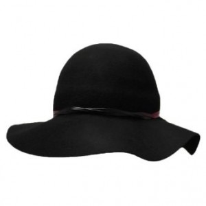 Felt Floppy Hat Black