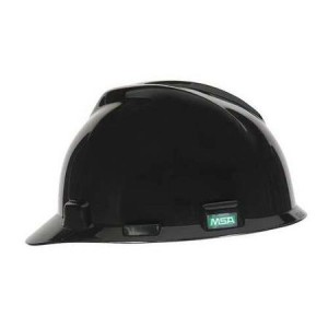 Flat Black Hard Hat
