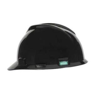 Flat Black Hard Hat