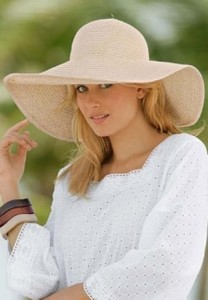 Floppy Straw Hat Photos