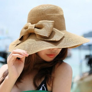 Floppy Straw Hat for Women