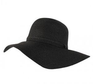 Floppy Sun Hat Black