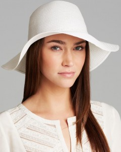 Floppy White Hat