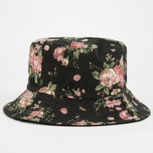 Floral Bucket Hats for Women