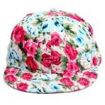 Floral Snapback Hats Image