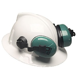 Full Brim Hard Hats with Ear Protection