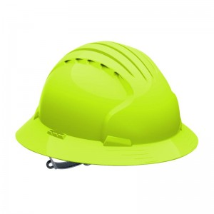 Full Brim Vented Hard Hats
