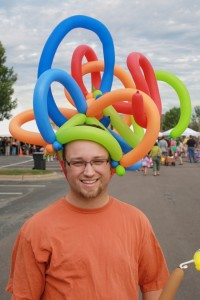 Funny Balloon Hats