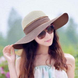 Girls Floppy Sun Hat