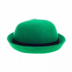 Green Bowler Hat Image