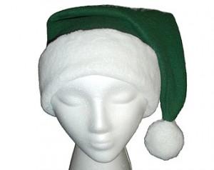 Green Santa Hat Photos
