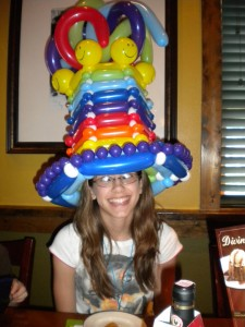 Halloween Balloon Hats