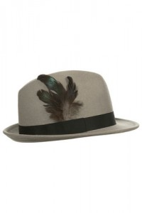 Hat with a Feather