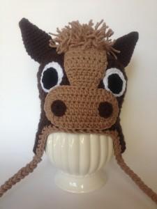 Horse Hat Crochet Pattern