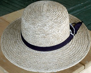 Images of Amish Straw Hat