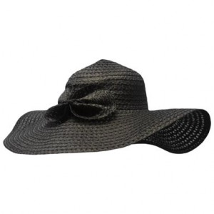 Images of Black Floppy Sun Hat