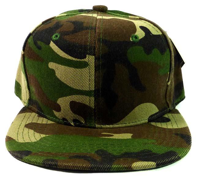 Camo Snapback Hats – Tag Hats 30d5e939594