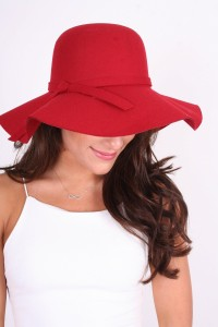 Images of Red Floppy Hat