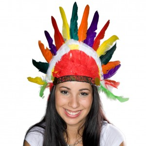 Indian Feather Hats