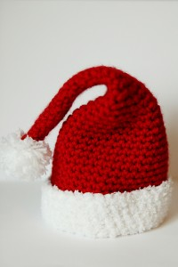 Infant Santa Hat Crochet Pattern