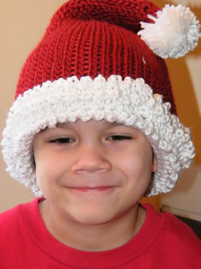 Knitting Pattern For Infant Santa Hat : Infant Santa Hats   Tag Hats