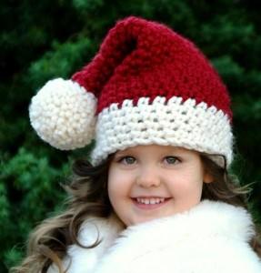 Infant Santa Hat Knit