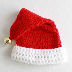 Infant Santa Hat Knitting Pattern