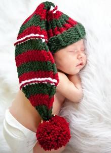 Infant Santa Hat Pattern