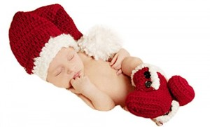 Infant Santa Hats