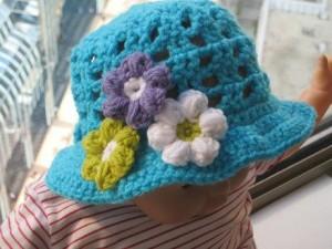 Infant Sun Hat Crochet Pattern