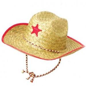 Kids Straw Cowboy Hats