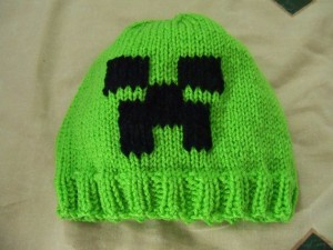 Knit Creeper Hat