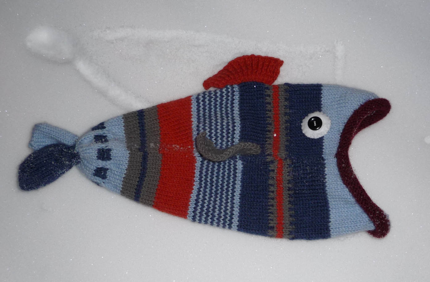 Knitting Pattern For Fish Hat : Fish Hats   Tag Hats