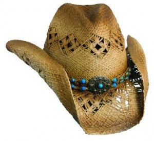 Ladies Straw Cowboy Hats