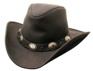 Leather Cowboy Hats for Men