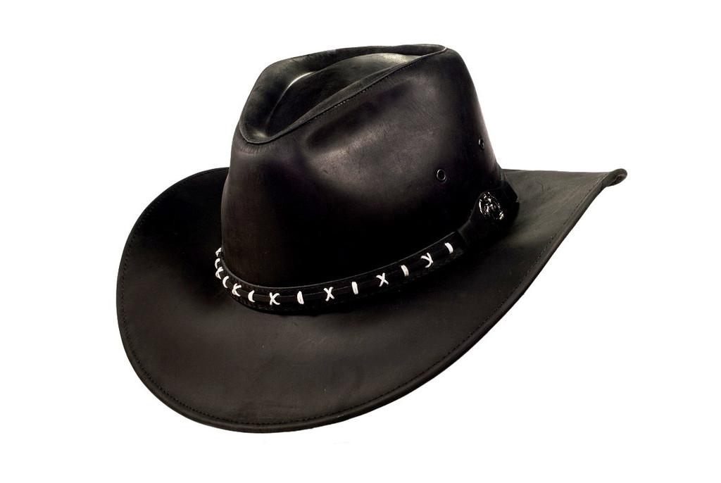 bd14c0bbaaa15 Leather Cowboy Hats – Tag Hats